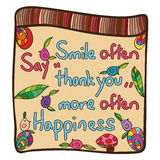 Smile often Stock Photos