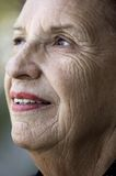 Smile of the old age Royalty Free Stock Photography