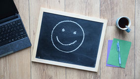 Smile painted Royalty Free Stock Images