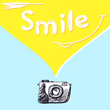 Smile photography Stock Images