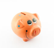 Smile Piggy Bank or money box Stock Images