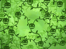Smile Plant Patch Background Stock Image