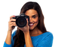 Smile Please! That's it... Royalty Free Stock Photos