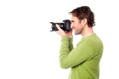 Smile Please; Time for a snap! Stock Photo