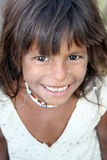Smile in Poverty Royalty Free Stock Photos