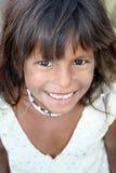 Smile in Poverty Royalty Free Stock Photos