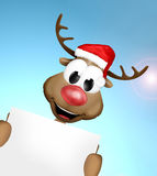 Smile Reindeer Royalty Free Stock Images