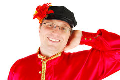 Smile russian dancer. Stock Images