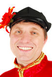 Smile russian dancer. Royalty Free Stock Photography
