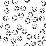 Smile seamless pattern cover. Smile icon creative design. Wallpaper, web design, textile, printing and UI and UX usage. Smile seamless pattern cover. Smile icon stock illustration
