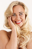 The smile of seduction Stock Images