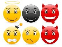 Smile set 10 Royalty Free Stock Photos