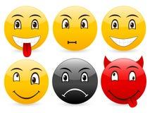 Smile set 4 Stock Image