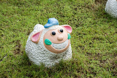 Smile sheep Stock Images