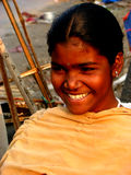 Smile Smile. A beautiful Indian teenager smiling Stock Image