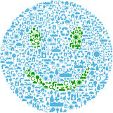 Smile symbol Stock Photo