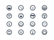 Smile symbols Stock Photos