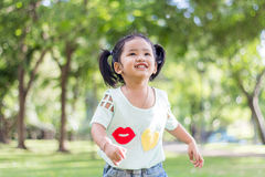 Smile Thai baby girl Stock Photography
