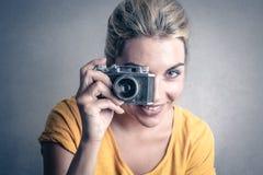 Smile to the camera Stock Photos