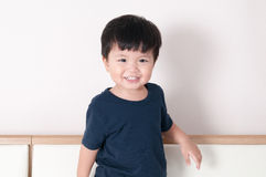 Smile toddler boy portrait Stock Image