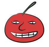 Smile tomato Royalty Free Stock Images
