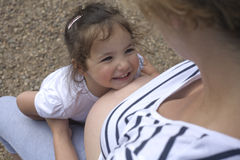 Smile the tummy Stock Images