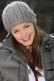 Smile during winter Royalty Free Stock Image