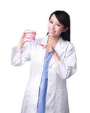Smile woman dentist doctor Royalty Free Stock Images