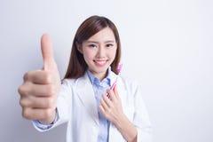 Smile woman dentist doctor Stock Photos