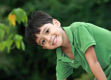 Smile. A young happy little boy Royalty Free Stock Images