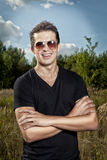 Smile young man Royalty Free Stock Photography