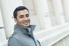 Smile young man Royalty Free Stock Images