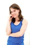 Smile young woman Stock Photos