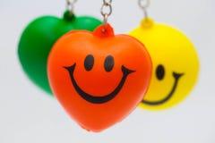 Smiled happily Stock Photo
