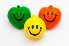 Smiled happily Royalty Free Stock Images