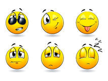 Smiles-balls Royalty Free Stock Photo