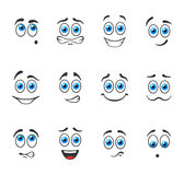 Smiles with blue eyes Royalty Free Stock Photography