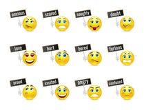 Smiles emotions Royalty Free Stock Photos