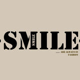 Smiles are always in fashion. Stock Photo