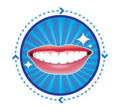 Smiles icon Stock Images