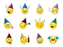 Smiles party Royalty Free Stock Image