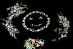 Smiley από τις βάσεις Στοκ φωτογραφία με δικαίωμα ελεύθερης χρήσης