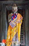 Smiley του Βούδα γλυπτών Στοκ εικόνες με δικαίωμα ελεύθερης χρήσης