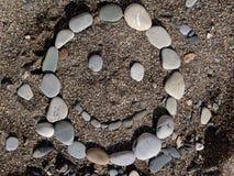 Smiley των πετρών Στοκ Φωτογραφίες