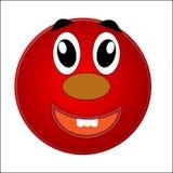 Smiley, жизнерадостные радостные глаза и улыбка бесплатная иллюстрация