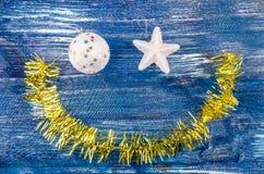 Smiley игрушек рождества Стоковое Изображение RF