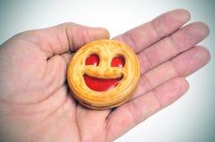 smiley печенья Стоковая Фотография