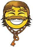 Smiley 07 пирата Стоковые Изображения