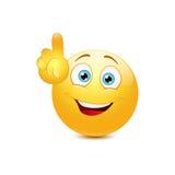 Smiley показывает вверх Стоковая Фотография