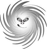 Smiley/Призрак-девушка/вектор Стоковые Фотографии RF